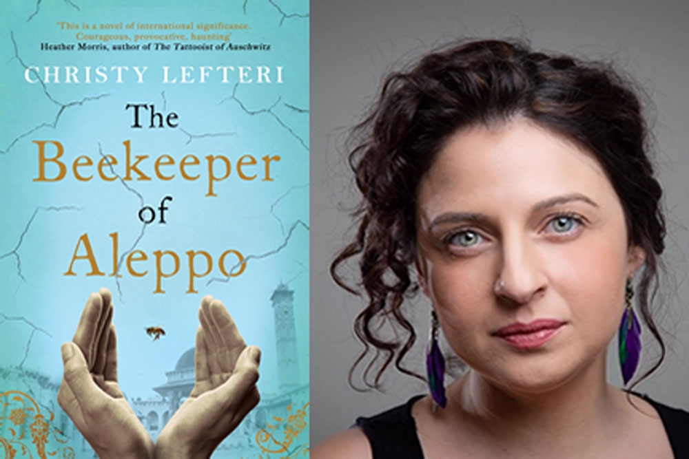 Podcast: Interview with Christy Lefteri, author of 'The Beekeeper of Aleppo'.