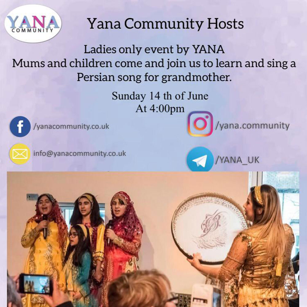 YANA Community Mums and Children Singing Workshop Online