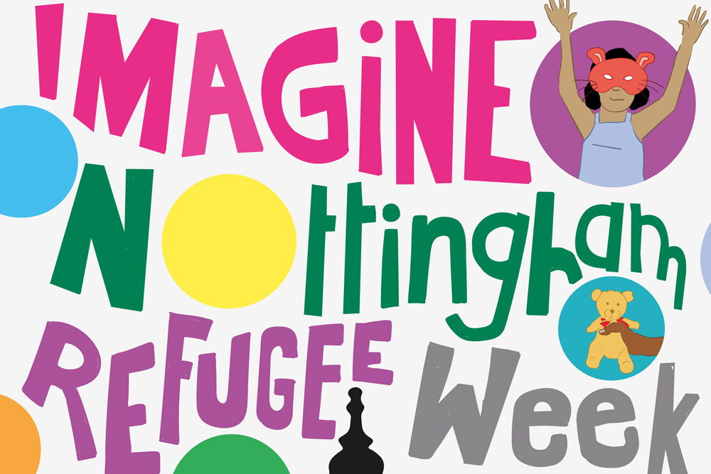Imagine! Competition for Nottingham Refugee Week 2020